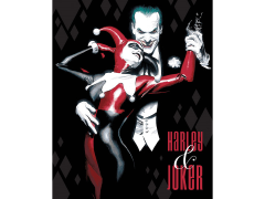 DC Comics Alex Ross: Harley And Joker Canvas Art Print