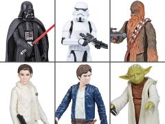 Star Wars Galaxy of Adventures Wave 2 Set of 6 Figures