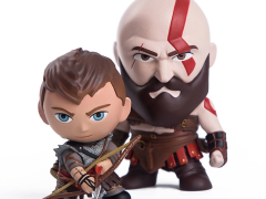 God of War Kratos & Atreus Mini Figure Two-Pack