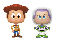 Toy Story Vynl. Woody + Buzz Lightyear