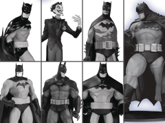 Batman Black and White Mini Figure Box Set #3