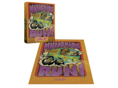 Scooby-Doo Munchies Run 1000-Piece Puzzle
