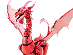 Metal Earth ICONX Red Dragon Model Kit