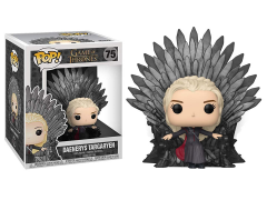 Pop! Deluxe: Game of Thrones - Daenerys Targaryen on Iron Throne