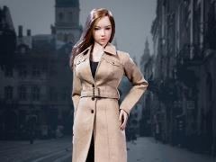 Female Trench Coat (Tan) 1/6 Scale Accessory Set
