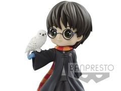 Harry Potter Q Posket Harry Potter with Hedwig (Pearl Ver.)