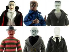 "Horror Set of 6 Mego 8"" Figures"