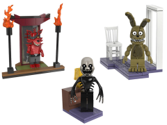 Five Nights at Freddy's Wave 5 Set of 3 Micro Construction Sets