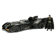Batman (1989) Metals Die Cast 1/24 Scale Batmobile & Batman