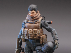 Planet Green Valley EFSA Security Forces Blue Wing Group (Combat Uniform) 1/18 Scale Figure