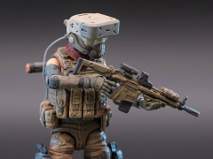 Planet Green Valley EFSA Security Forces Blue Wing Group (Mind Controller) 1/18 Scale Figure