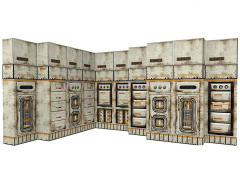 Sector 7 Modular Panels 1/12 Scale Pop-Up Diorama