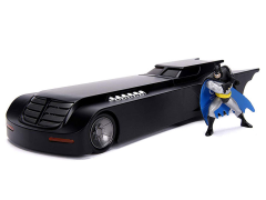 Batman: The Animated Series Metals Die Cast 1/24 Scale Batmobile & Batman