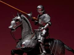 KT Project KT-027 Takeya Shiki Jizai Okimono Kitaro 15th Century Gothic Equestrian Armor (Silver)