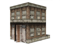 Building (3.0) 1/18 Scale Pop-Up Diorama