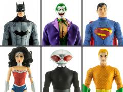 "DC Comics Set of 6 Mego 14"" Figures"