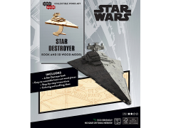 Star Wars IncrediBuilds Star Destroyer Book & 3D Wood Model Kit