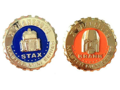 Master Mini MM-I Krank & MM-II Stax Collector Coin