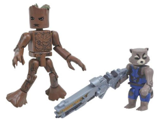 Avengers: Infinity War Groot & Rocket Minimates Two-Pack