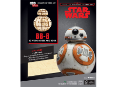 Star Wars IncrediBuilds BB-8 Book & 3D Wood Model Kit