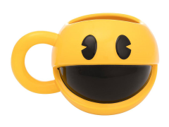 Pac-Man Sculpted Ceramic Mug