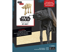 Star Wars IncrediBuilds AT-ACT Book & 3D Wood Model Kit