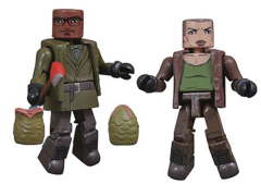Alien 3 Minimates Ripley & Dillon Two-Pack