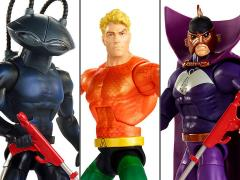 DC Comics Multiverse Aquaman Between Two Dooms SDCC 2018 Exclusive Three-Pack
