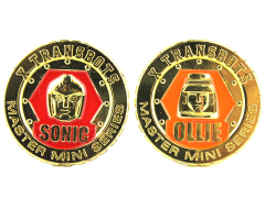 Master Mini MM-IV Ollie & MM-V Sonic Collector Coin