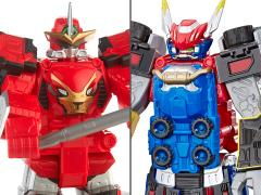 "Power Rangers Beast Morphers 10"" Megazord Wave 1 Set of 2 Figures"