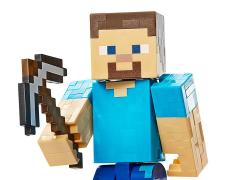 Minecraft Mining Steve Figure