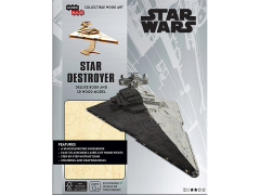 Star Wars IncrediBuilds Star Destroyer Deluxe Book & 3D Wood Model Kit