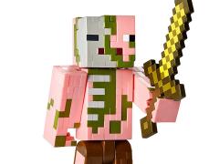 Minecraft Hostile Zombie Pigman Figure