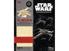 Star Wars IncrediBuilds X-Wing Deluxe Book & 3D Wood Model Kit