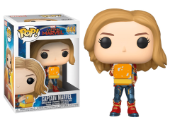 Pop! Marvel: Captain Marvel - Captain Marvel (Holding Lunchbox)