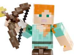 Minecraft Arrow Firing Alex Figure