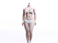 Buxom Woman Super-Flexible Female Seamless 1/6 Scale Suntan Medium Bust Body (S29B)