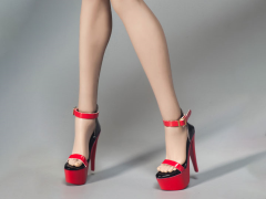 Female Fashion Stiletto Shoes (Red) 1/6 Scale Accessory Set