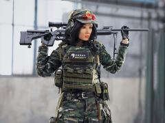 Chinese Snow Leopard Commando Unit Female Sniper 1/6 Scale Figure