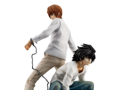 Death Note G.E.M. Series Yagami Light & L Two-Pack