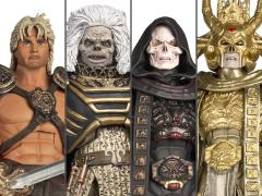 Masters of the Universe Collector's Choice William Stout Collection Set of 4 Figures