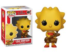 Pop! Animation: The Simpsons - Lisa Simpson (Saxophone)