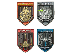 Star Wars Fighters Space Ships Pin Set