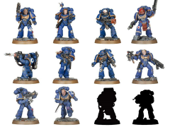 Warhammer 40,000 Space Marine Heroes Wave 1 Box of 24 Model Kits