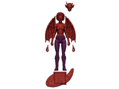 Vitruvian H.A.C.K.S. Fantasy Character Blank Female Demon (Hellfire Red)