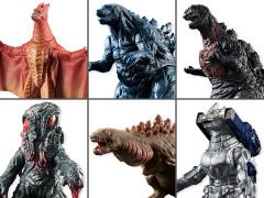 "Godzilla 3.50"" Wave 1 Box of 10 Figures"