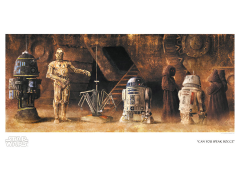 Star Wars Can You Speak Bocce Limited Edition Giclee