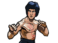 Bruce Lee FiGPiN #182