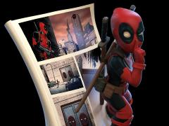 Marvel Q-Fig Deadpool 4D Diorama