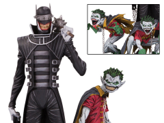 Dark Nights: Metal The Batman Who Laughs & Robin Minions Deluxe Limited Edition Statue
